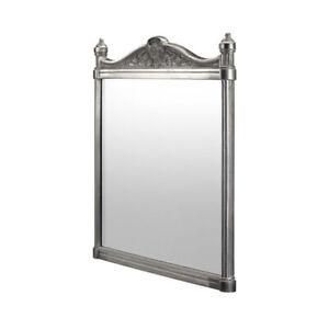 Burlington Georgian Traditional Style Bathroom Aluminium Mirror, Various Colours