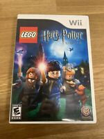 Only Case & Manual - LEGO Harry Potter: Years 1-4 (Nintendo Wii 2010) - NO GAME