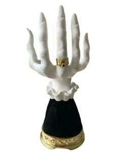 New 2021 Bath Body Works Halloween THE HAND Witch Vampire Candle Holder Pedestal