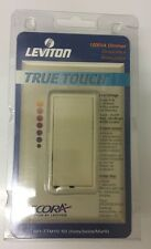 Leviton Decora Touch Light Dimmer Switch Low Volt 1000W 1000VA Ivory TTM10-10I