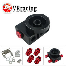 Oil Filter Sandwich Adaptor With remote block with thermostat 1xAN8 4xAN10