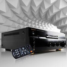 Home Cinema HiFi Stereo Full Amplifier Pro power Sherwood AX-5505 Black