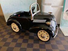 Hallmark Kiddie Car Classics Pedal 1937 Garton Ford Luxury Ed - Serial #'ed!