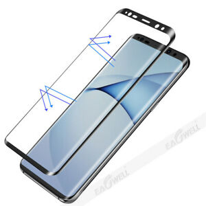 5D Curved Full Tempered Glass Screen Protect Film For Samsung Galaxy S9+ / S10+