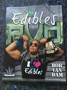 Signed RVD Edible Magazine