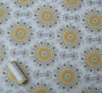 Vintage Sunshine Cotton Fabric by Clothworks * FQ, Half or Metre Length *