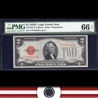 1928-D $2 LEGAL TENDER NOTE PMG 66 EPQ Fr 1505  C75764402A