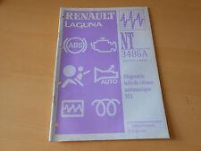 notice technique RENAULT LAGUNA  diagnostic boîte automatique SU1
