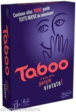 Taboo gioco di società Gioco da tavola Italiano Hasbro A4626