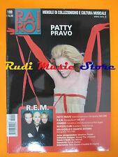 rivista RARO 199/2008 Patty Pravo R.E.M. Max Gazze' Frankie Hi-Nrg Zombies No cd