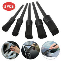 5pcs Car Detail Brush Wash Auto Detailing Cleaning Kit Engine Wheel Brushes