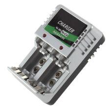 AC Wall EU Plug Wall Charger AA AAA 9V Ni-Mh Ni-Cd Rechargeable Battery