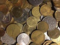 100 Gramm Restmünzen/Umlaufmünzen Israel