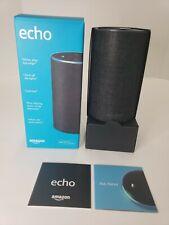 Amazon Echo - 2nd Generation - Smart Assistant / Wireless Speaker - Charcoal P