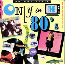 Various Artists : Only in the 80s 3 CD