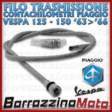 CAVO FILO TRASMISSIONE KM CONTACHILOMETRI PIAGGIO VESPA 125 150 1963 > 1966
