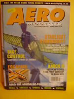 AEROMODELLER OCTOBER 2000  RAVEN II PLAN RALPH SPARROW OXBOROUGH MODEL AIRCRAFT