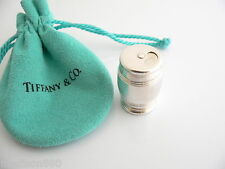 Box Case Trinket Container Rare Vintage! Tiffany & Co Silver Barrel Pill