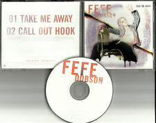 FEFE DOBSON Take Me Away RARE USA PROMO Radio DJ CD Single 2003 MINT ISLR15890