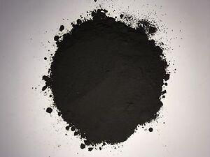 Oxidschwarz Schwarz Eisenoxid Farbpulver Farbpigment Pigment Trockenfarbe 1-25kg
