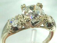 $16,295 1.65 carat G/VS2 diamonds 1.4ct center 14k engagement ring sz 6 1/4  3.5