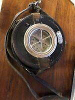 1927 Detex Portable Night Watchmen's Clock Patrol Alert & Lock Station