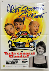 EBOND Tu la conosci Claudia? - Locandina Originale Cinema O_L0179