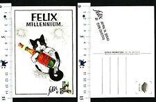 CARTOLINA PUBBLICITARIA - FELIX - MILLENNIUM - APRE IL 2000 CON GUSTO! - 56633