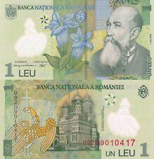 Romania 1 Leu (2009) - Polymer/Monestary/p117f UNC