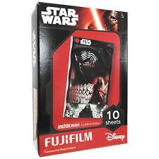 FUJIFILM FUJI INSTAX MINI Instant FILM 1PACK  / Star Wars: The Force Awakens