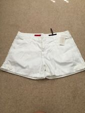 """AG Adriano Goldschmied """"The Lana"""" White Cuffed Shorts Size 31 NWT Retail $145"""