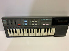 Casio PT-87 CasioTone Electronic Keyboard with World Songs ROM Pack RO-551 Japan