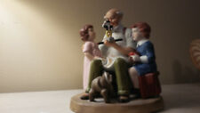 "Norman Rockwell Collector's Club Figurine - ""The Toy Maker"" Issued 1981"