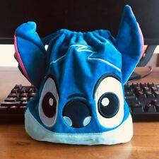 Lilo&stitch blue stitch handbag drawstring anime tote makeup bags Phone holder