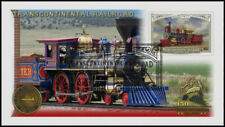 Transcontinental Railroad 2019 - 150th Anniv. Train Stamp First Day Cover #001
