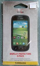 2 Pack Verizon Display Protectors SAMSUNG GALAXY STRATOSPHERE 2 II