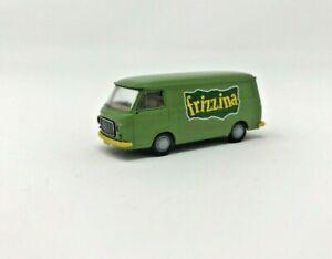 BREKINA By Pirate PIBK238000.FRIZ Fiat 238 Van Green 'Dory' Scale H0 1/87