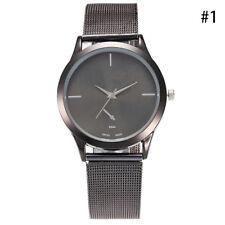 Women Ladies Wrist Watch fashion Bracelet Stainless Steel Unisex  Analog Quartz