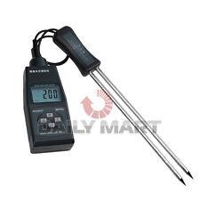 Md7822 Digital Grain Moisture Temperature Meter Tester Resolution 0.5% New