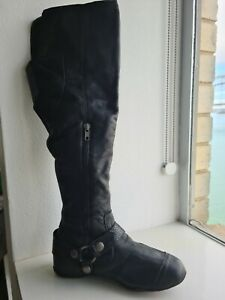 Womens DKNY knee high boots size 7