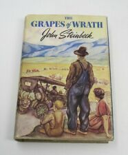 The Grapes Of Wrath By John Steinbeck- 1st Ed. 7th Printing 1939 DJ EXCELLENT
