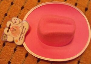 PINK Halloween Dog Cowboy Hat Size S /M pet accessories clothing pet shop NEW