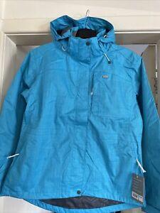 Ladies Tog 24 Yalta Milatex Aqua Jacket 16-18