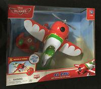 Disney Planes IR RC Radio Remote Control Plane El Chupacabra Ages 4+ Toy Dusty