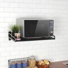 Horno Microondas Soporte Almacenamiento Aluminio Estante Pared Cocina Accesorios
