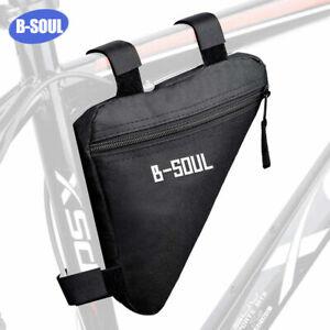 Triangle Bike Frame Bag Top Tube Cycling Bicycle Phone Tool Storage Road MTB Fix