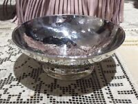 J.E. Caldwell & Co. Philadelphia Hammered Footed Sterling Silver Bowl