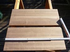 2 x holzplatte Nussbaumbrett Nussbaum platte 530 x 210 x 20 mm massivholz regal