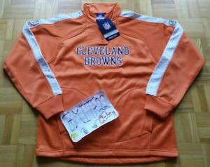 NWT Cleveland Browns Reebok Tactical 1/4 Zip Bonded Pullover Jacket Men Small