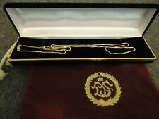 """BALESTRA 18K SOLID GOLD BOX LINK 24.25"""" LOBSTER CLASP CHAIN NECKLACE - ITALY"""